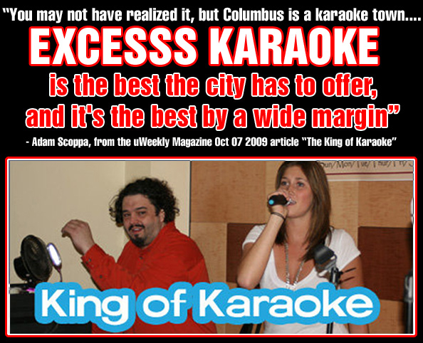 excesss king of karaoke pull quote